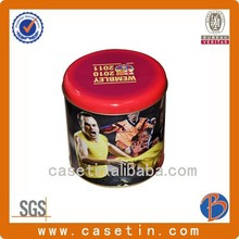 High Quality Round Cylinder Coffee Tin/Coffee Tin Box/Coffee Tin Can
