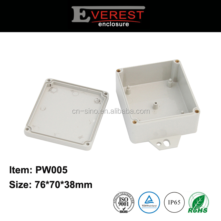 Anticorrosive abs waterproof electronic plastic enclosure