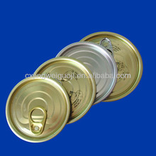 TIN CAN LID COVERS/EASY OPEN ENDS