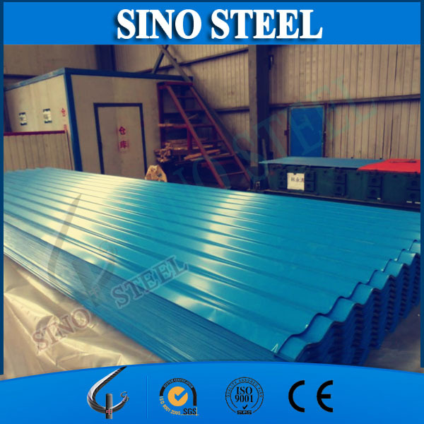 G90 and Z275g Prepainted zinc roofing sheet/Color coated metal tiles for construction