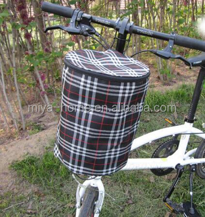 Fashion folding bicycle basket / bicycle front basket / Folding Bicycle Picnic Basket