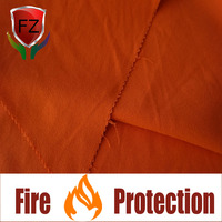 F&Z soft touch fire proof acrylic cotton woven fabric for protective clothing