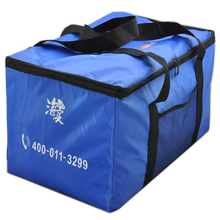 Nylon webbing handle custom insulated cooler bag large