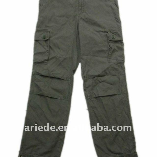 mens cotton cargo pants work clothes