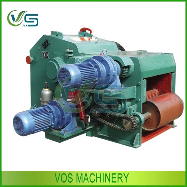 Super quality and energy saving drum type log wood chipping machine for sale