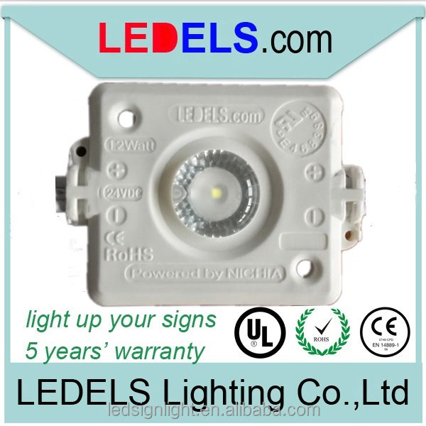 24V 1.2w UL led module nichia injection led modules 24v