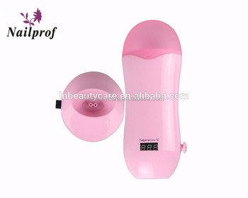 Nailprof Roller Wax Heater for Hair Removal & Mini Portable Wax Warmer