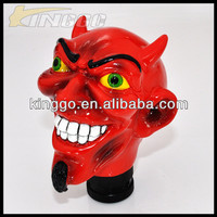 novelty shift knobs evil custom gear shift knob