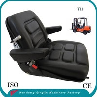 Semi suspension seat for forklift and other material handling equipment(YY1)