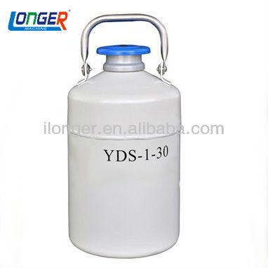 YDS-1-30 small capacity liquid nitrogen biological container