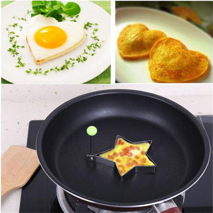 Food grade fried egg mold for cooking, lovely shape egg mold