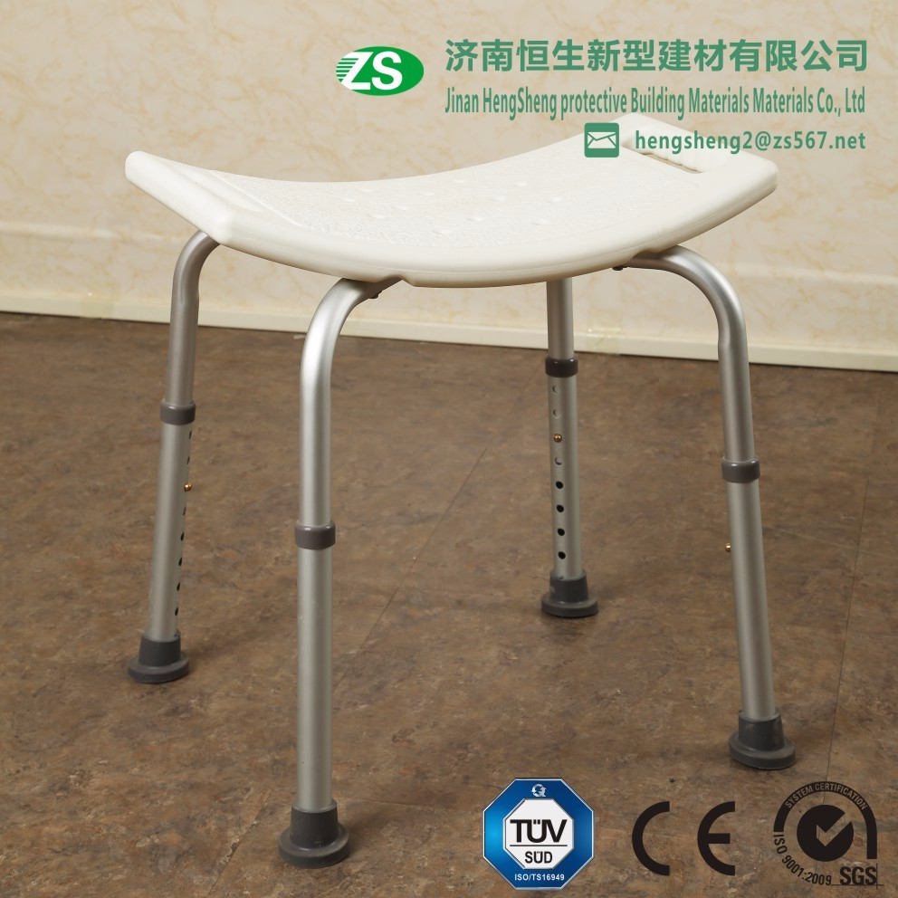 Stainless steel & Aluminium folding chair/shower seat