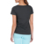 Guangzhou factory custom plain 90 cotton 10 spandex t shirts for woman