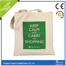 Promotional customized cotton shopping bag hot products cotton bag fashion cotton canvas tote bag