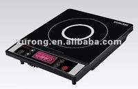 LCD Screen display button type induction stove