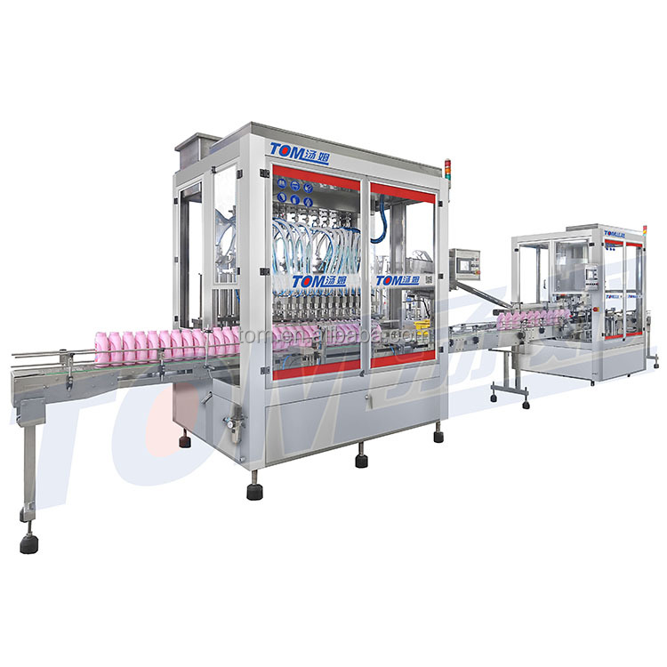 Detergent filling line/production line filling machine