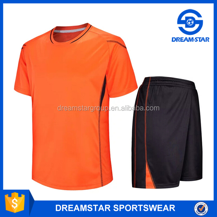 Thai Quality Football Shirt Maker Cheap Plain Soccer Jersey