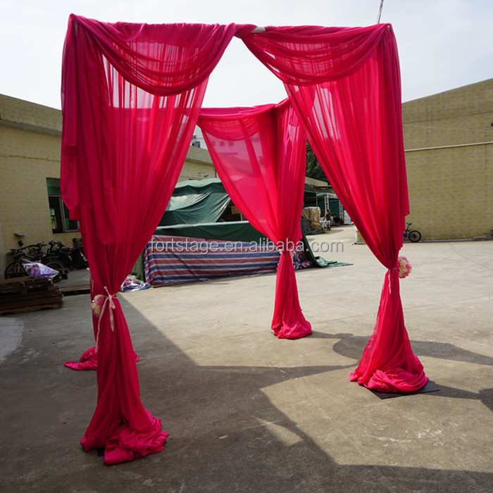 List manufacturers of wedding decoration drapes buy wedding cheap adjustable tents and drapes wedding decoration pipe and drape junglespirit Choice Image