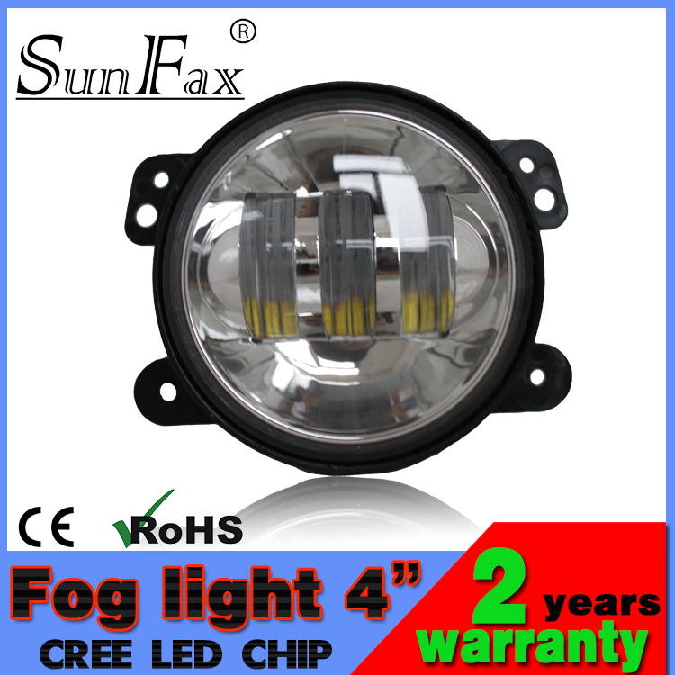 "Best price!!! Off road accessory 4"" 30W Jeep fog light led headlight for harley motorcycle, C REE headlight for trucks, atv"