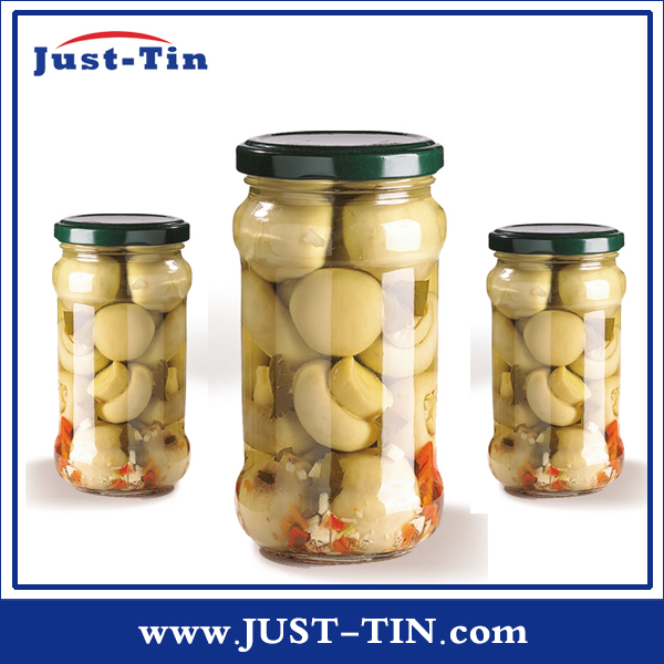 Best 370ML names of edible Canned Mushroom In Glass Jar