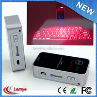 bluetooth wireless virtual laser tablet case with keyboard