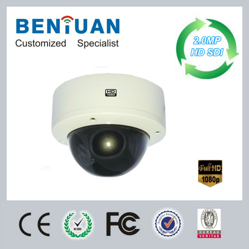 3X Zoom Auto Focus 1080p full hd-sdi digital cctv camera