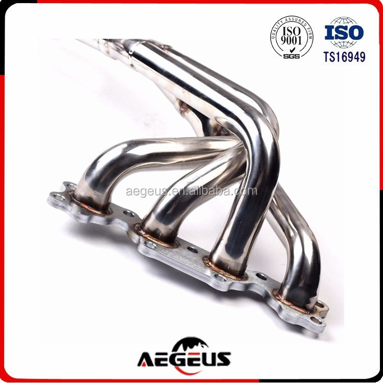 SS Manifold Exhaust Header 4cyl 1.6L NA B6ZE MX 5 MX5 For 1993 Mazda Miata