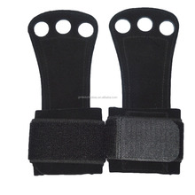 Leather Grip Pads - The Ultimate <strong>Weight</strong> Lifting Grips - A Better Alternative Gym Workout Gloves