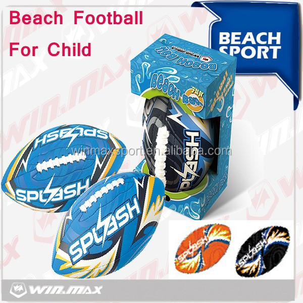 2015 New fashion Neoprene beach American footballs/ beach waterproof football
