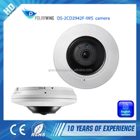 DS-2CD2942F-IWS 4.0MP Mini Fisheye Long Time Recording Outdoor WIFI Hikvision IP Camera