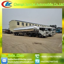 30-60cbm 3 Axles Fuel tank trailer,Mobile fuel trailers,Oil tanker semi trailer for sale