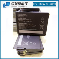 Cell phone used battery type for infinix BL-20BX 2000mah bateria