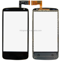 Black Touch Screen Digitizer with Home Button and IC Connector Assembly for HTC Desire 500 506e VA063 P