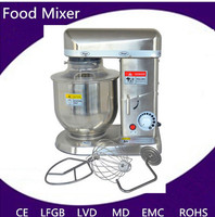 7L stand food mixer planetary with stainless steel bowl