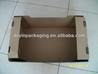 wax corrugated fruit or vegetable carton box