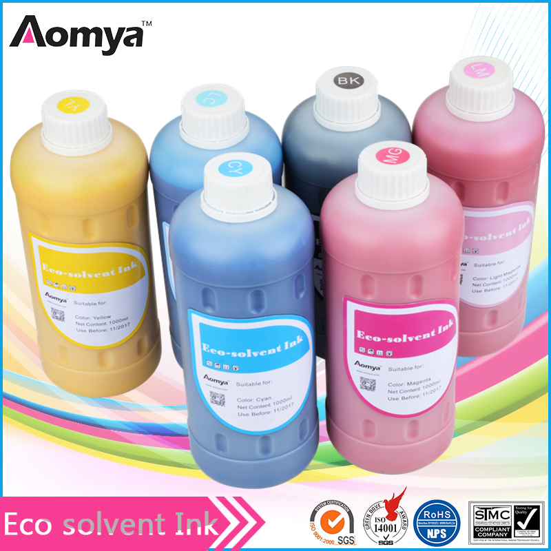 Made in China eco solvent ink for dx5 dx7 head inkjet plotter printer