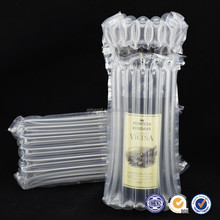 2016 hot sales high quality air cushion protective packaging air column bag for wine bottle packaging bags
