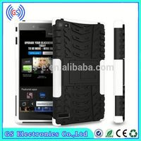 Mobile phone case For BB Z3 Cover Combo Hybrid Kickstand Case For Blackberry Z3 Housing