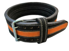 Power Lifting Leather Belt