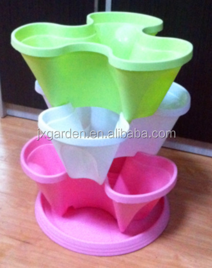 flower pots planter of stacking