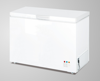 Single top open door chest freezer 200L