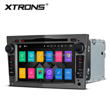 XTRONS PA77OLOP android 7.1 car dvd player for opel corsa with Colorful Buttons, touch screen for opel corsa radio gps