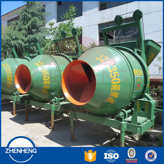 ZHENHENG New Type Low Price Large Capacity Electric Volumetric Self Loading Mobile Concrete Mixer
