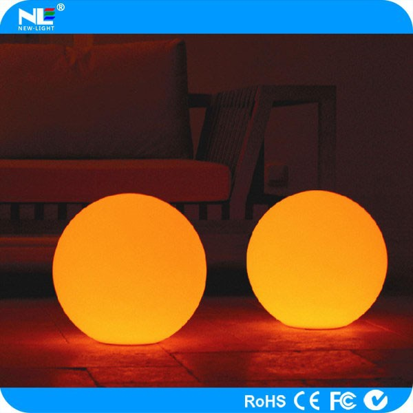 Outdoor make Christmas LED light balls / waterproof battery operated LED floating balls