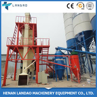China manufacture 10t/h mixed complete dry mortar production line