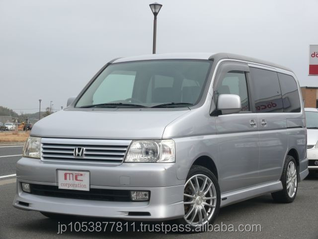 honda stepwagon 2002 Popular cheap used cars right hand drivewith Good Condition made in Japan