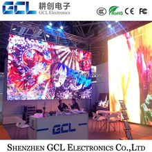 Die casting aluminum cabinet rental led display screen p3 p4 p5 P6 led display black face SMD2121 led display