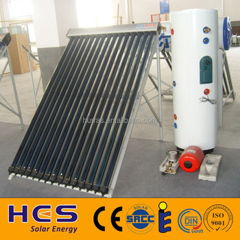 Domestic China split pressurized solar water heater system