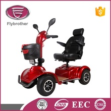 cheap four wheel electric scooter parts for old and disable person