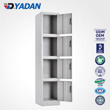 YADAN CHINA TOP MANUFACTURE metal garage storage cabinet 4 doors locker clothes closet wardrobe with air vent